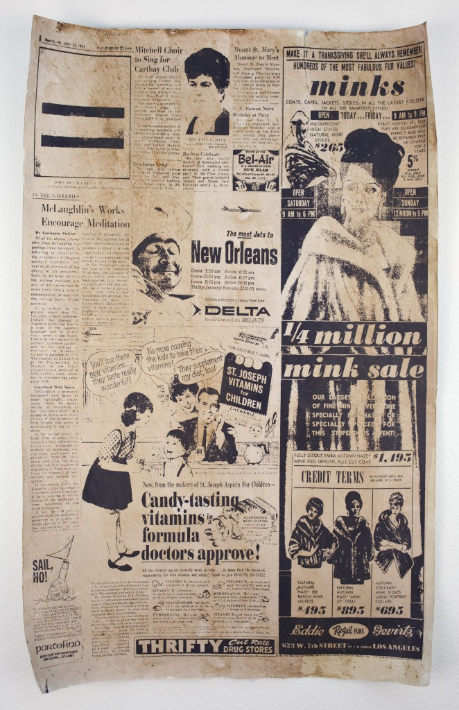 FIONA CONNOR Ma #5 (Newspaper article featuring John McLaughlin from the Los Angeles Times) 1956-87